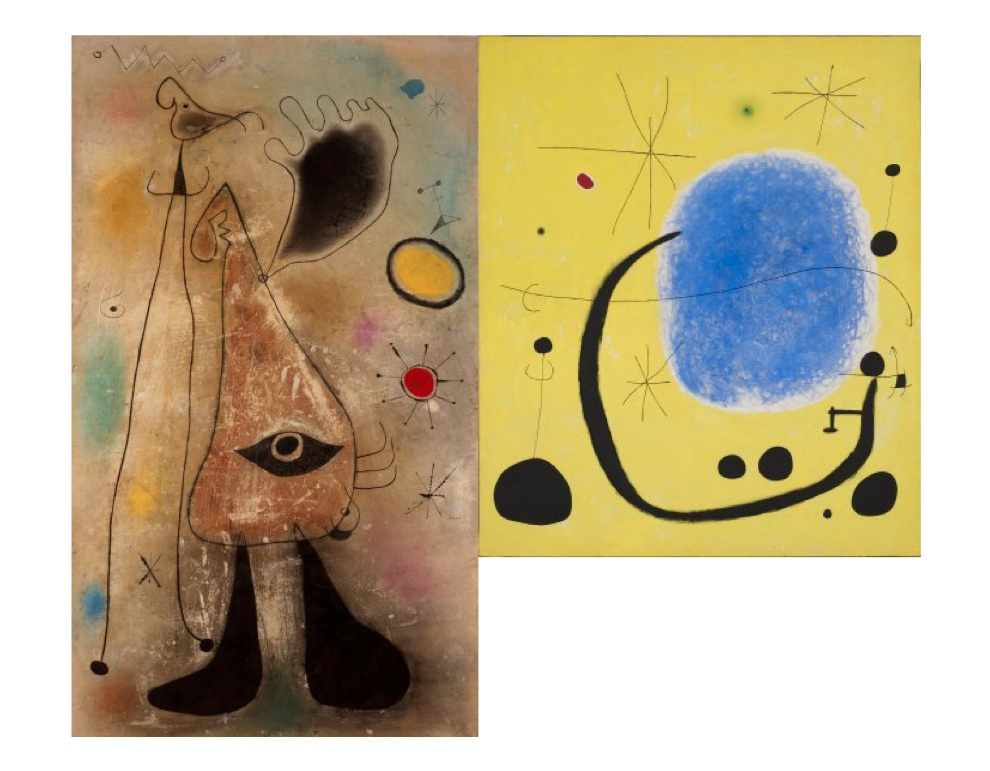 Joan Miró. Collection. A new display