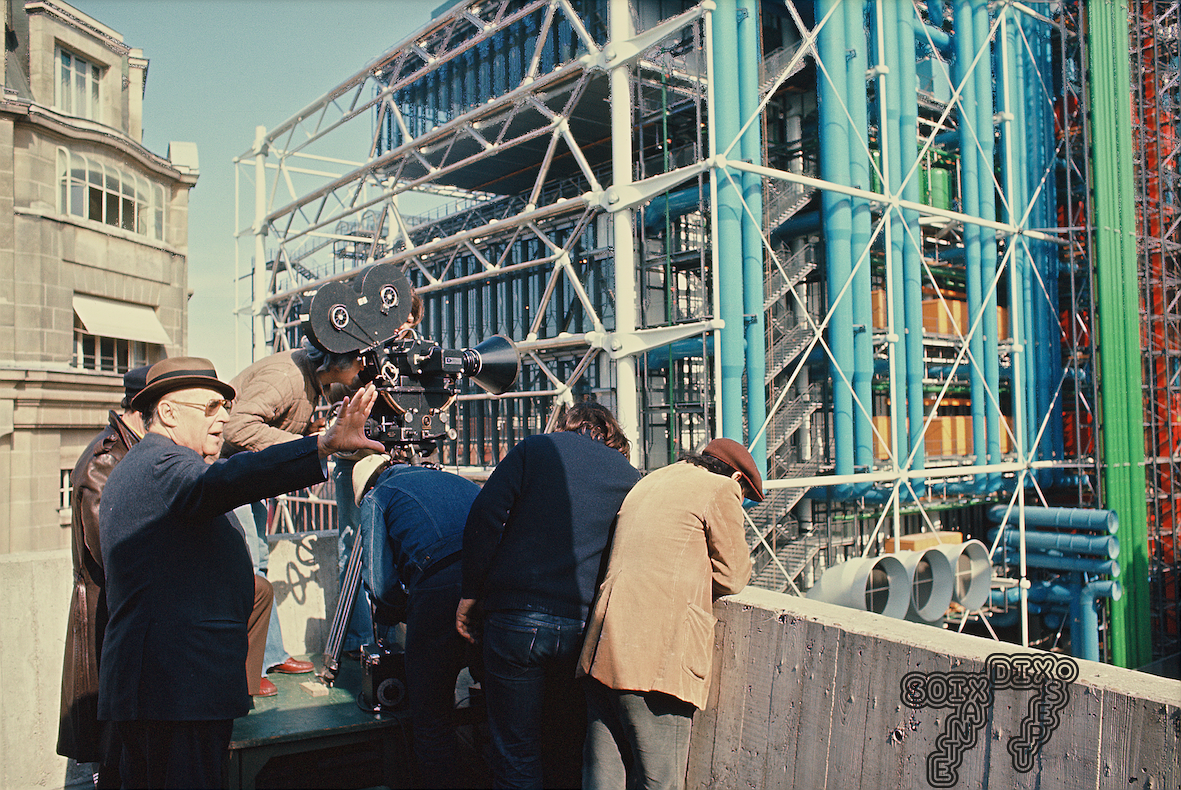SoixanteDixSept (SeventySeven): When Rossellini filmed the Centre Pompidou