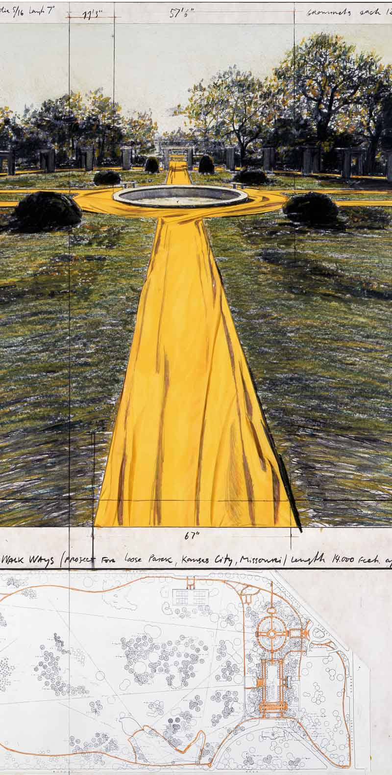 Christo and Jeanne-Claude. Water Projects
